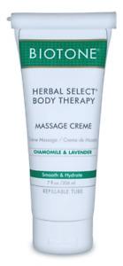 Biotone Herbal Select Body Therapy Massage Creme 7 oz