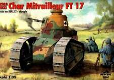 RENAULT FT 17 MITRAILLEUR (U.S, SPANISH, FINNISH, FRENCH, RPM, 35061, SCALE 1/35