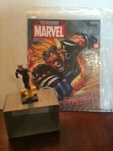 Eaglemoss Classic Marvel Figurine Collection and Magazine Cannonball #149c
