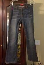 Apple Bottom girl youth Jeans 10 dark wash straight leg Denim meas 30x30