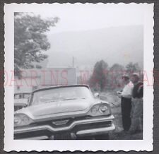 Vintage Car Photo Men w/ 1957 Dodge Automobile 672313