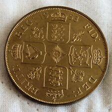 More details for 1953 queen elizabeth ii copper proof pattern double florin - misstrike