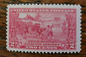 1925 Lexington-Concord, 2¢ Birth of Liberty (SKU #618)