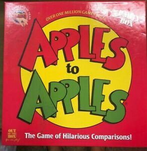 Stuck at Home with the Kids - Apples to Apples Party Box w/ Over 1000 Cards EUC