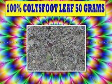 COLTSFOOT LEAF 50g TEA ☆100% FRESH Tussilago farfara☆RELAXATION☆DRIED HERB☆