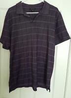 Men's VanHeusen Light Purple Polo Shirt Size XL