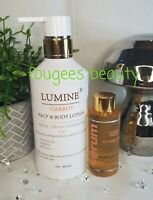 LUMINE CARROT EXTRA STRONG WHITENING 3 IN 1 BODY & FACE LOTION + SERUM SPF50