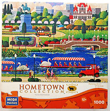 jigsaw puzzle 1000 pcs Swan Boats in Boston HomeTown Collection Heronim 2012
