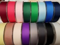 Grosgrain Ribbon 6mm 10mm 15mm 25mm 40mm x 20meter Reel 18 Colours & Free P&P