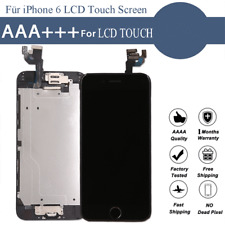 Display für iPhone 6 LCD Touch Screen KOMPLETT VORMONTIERT Glas Front Schwarz
