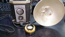 VINTAGE KODAK BROWNIE REFLEX SYNCHRO CAMERA 1949 w/flash and no.13 lens