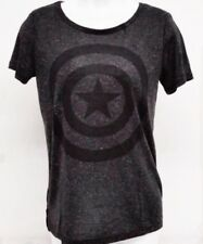 5dd0034274ac Licensed Marvel Captain America Womens Juniors X-Large Grey T-Shirt XL
