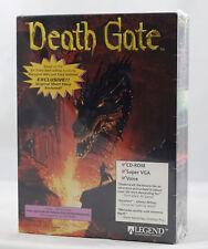 Vintage Big Box PC Sealed - Legend Entertainment - Death Gate DOS CD Rare MINT