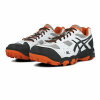 Asics Mens GEL-BLACKHEATH 4 Hockey Shoes Pitch Field White Sports Breathable