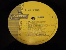 PROMO TIMI YURO LP...HURT ! ! ! ! ! ! ! ....LIBERTY 3208....NEAR MINT VINYL