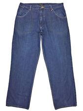 Sean John Mens Medium Wash Blue Straight Leg Relaxed Fit Denim Jeans Size 38x33