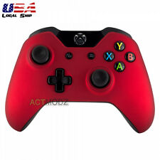 Soft Touch Red Front Housing Shell Faceplate Case Cover for Xbox One Controller