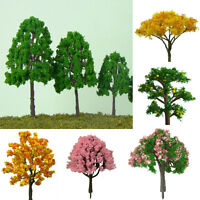 20pcs Miniature Tree Plants Fairy Garden Dollhouse Ornament Flowe Pot Home Decor