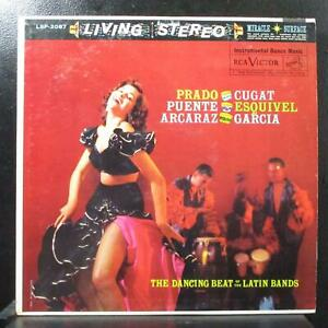 Various - The Dancing Beat Of The Latin Bands VG+ Stereo LP RCA LSP-2087 USA