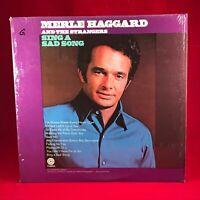 MERLE HAGGARD Sing A Sad Song  1971 USA Vinyl  LP EXCELLENT CONDITION
