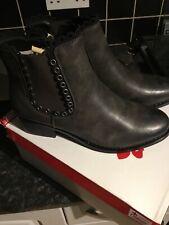 Rieker Antistress Fashion Boots Grey Uk Size 7.5 Eu 41