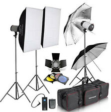 750W Professional Photographic Studio Strobe Flash Light Kit