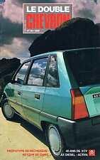 Le Double Chevron   N°95  1988 : Prototype de recherche 40 ans de 2 cv Retour de