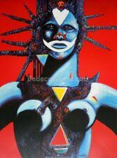 Affiche Philippe DRUILLET Poster Salammbo Barbare 60x80 cm
