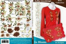 Anita Goodesign In Bloom Embroidery Machine Design CD NEW 64MAGHD