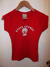 Kyoto Cranes Nippon Sports And Fitness Nike Women's Sports Gym V Neck T Shirt Sm