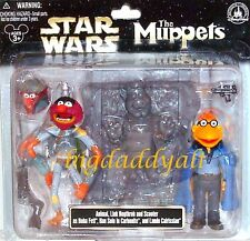 Disney Star Wars Tours Muppets Animal Boba Fett Scooter Lando Link Han Figures