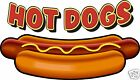 Hot Dogs Concession Decal 10