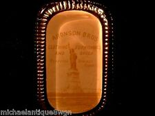 RARE Antq Stafford Springs Advertising Clothing, Furnishings,Shoes Paperweight