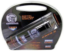 BULLZ AUDIO CAP - 2.2 FARAD DIGITAL CAPACITOR LED DIGITAL DISPLAY - 2200 WATTS!