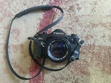 Canon A-1 35mm SLR Film Camera with 50 mm lens