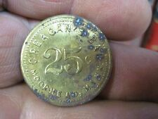 MOORHEAD MINNESOTA MN GOOD FOR 25c IN TRADE TOKEN CREAGAN BAR ORIGINAL COIN