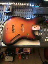 Fender Geddy Lee Sunburst Jazz Bass Body