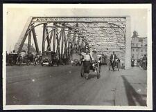 Garden Bridge, Shanghai, China. 1920s vintage photo. Free UK Postage