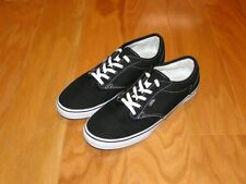 Vans Women's Sneakers/Shoes NEW Size 7 Black White Fashion Lace Up