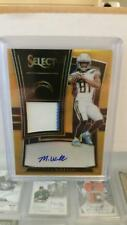 2017 Select Gold Prizm RC PATCH AUTO MIKE WILLIAMS Chargers 10/10 EABY 1/1