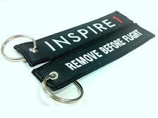 15x DJI Inspire 1 /  Remove Before Flight Key Chain & Reminder
