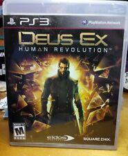 Deus Ex Human Revolution ~ Playstation 3, PS3 Complete