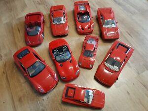 Ferrari 1:18 Konvolut Viper Testarossa F40 und weitere