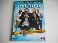 DVD - LES EXPERTS : MIAMI N° 8 / SAISON 2 / EPISODES 5 à 8