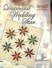 Diamond Wedding Star Paper Pieced Judy Niemeyer Quilt Pattern New for 2017