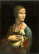 Lady with an Ermine Movie Poster Canvas Picture Art Print Premium Quality