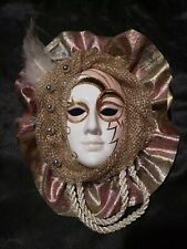 CERAMIC FACE WALL MASK - IN EXCELLENT CONDITION  -