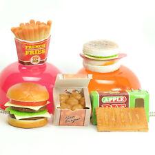 J Dream Squishy Bun Burger Fries Apple Pie Fast Food 1 Random Gashapon Toy