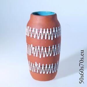 Vase Scheurich 242-22 H=22,1 cm 50s/50er - WGP - Fat Lava #1215