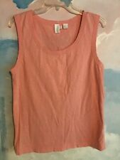 DKNY Pure tee in 100% Cotton in a Peach, L